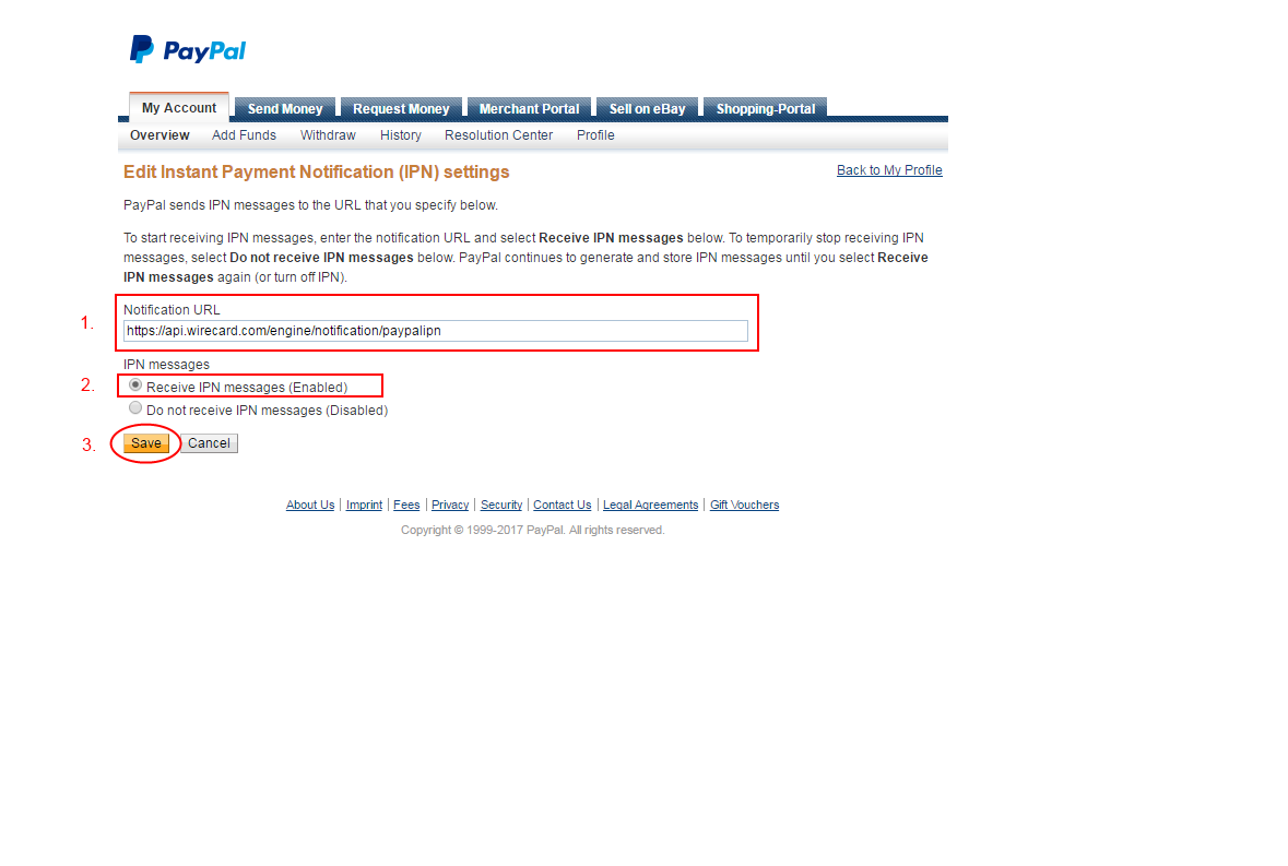 Wirecard Paypal